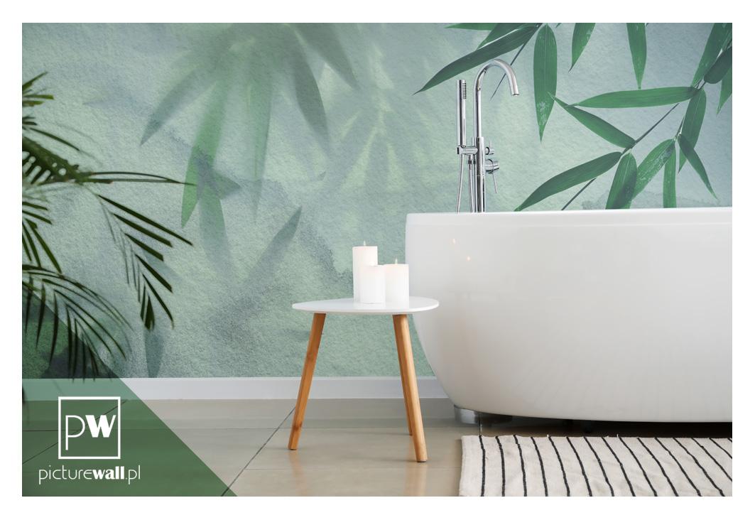 Fototapeta Bambusy w łazience