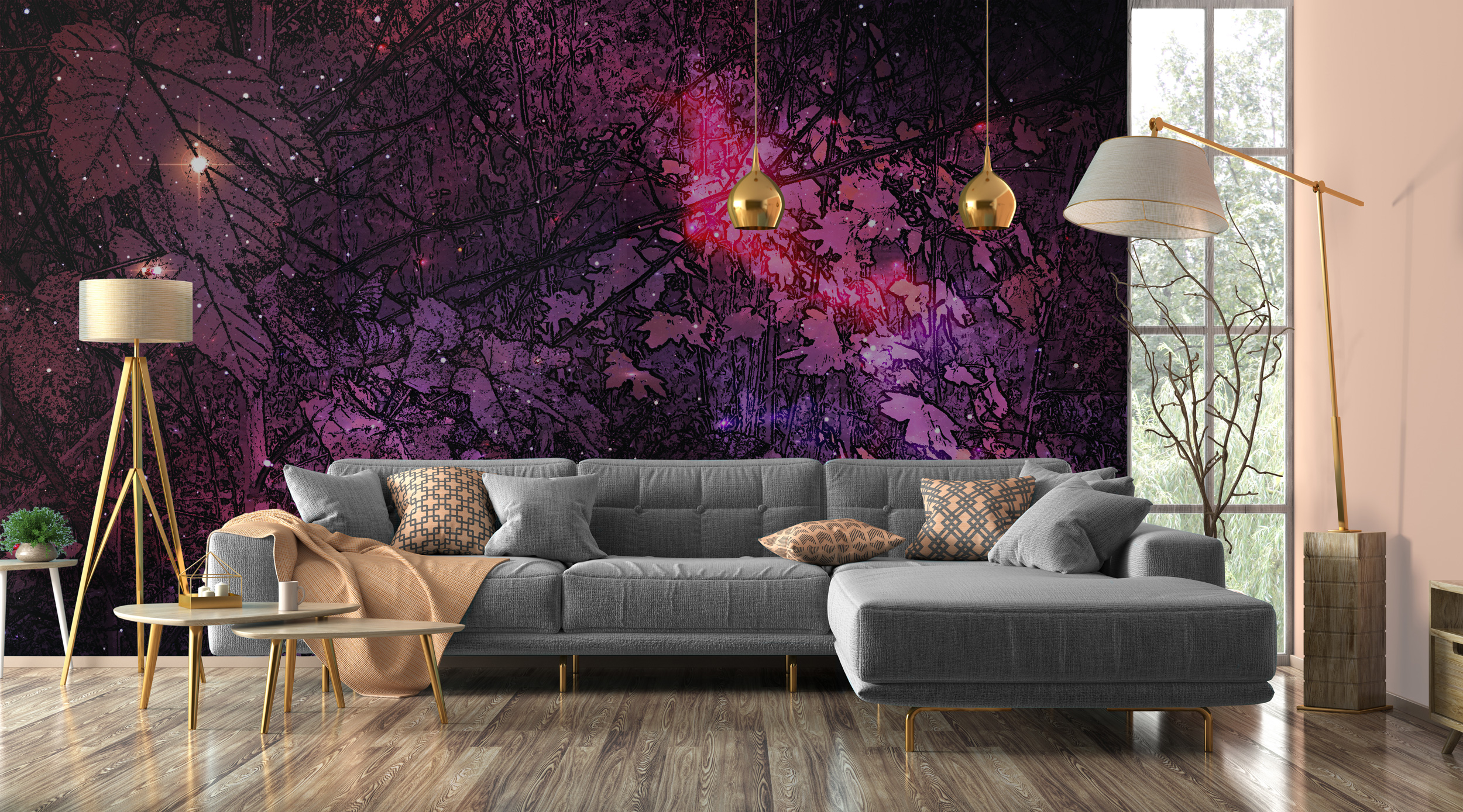 Fototapeta Mocne refleksy - gwarantowany efekt na Twojej ścianie