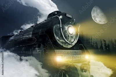 Fototapeta Hudson Steam Locomotive