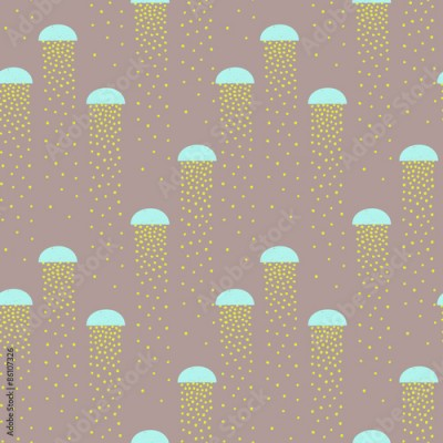Naklejka vector pattern of colorful abstract shapes