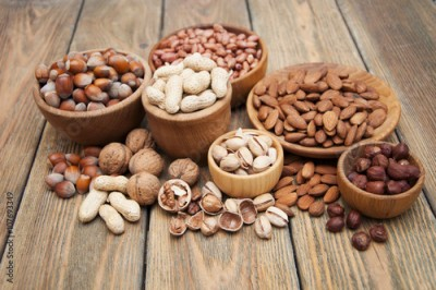 Fototapeta Variety of nuts